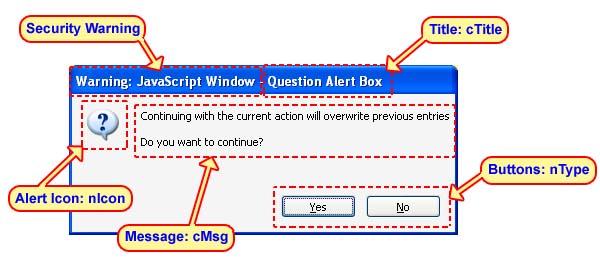 The Alert Popup Box (UI Controls)